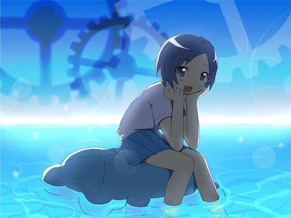 Tags: Anime, Inazuma Eleven, Level-5, Inazuma Eleven GO, Sorano Aoi, Clark Wonderbot, Inazuma Eleven Go: Chrono Stone
