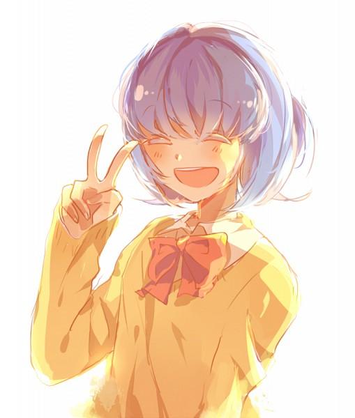 Tags: Anime, Sweater, V Gesture, Inazuma Eleven GO, Sorano Aoi, Lucarios, Inazuma Eleven GO Galaxy