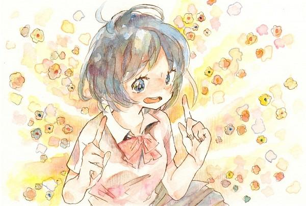 Tags: Anime, Inazuma Eleven, Blue Skirt, Inazuma Eleven GO, Sorano Aoi, Pixiv Id 3251091