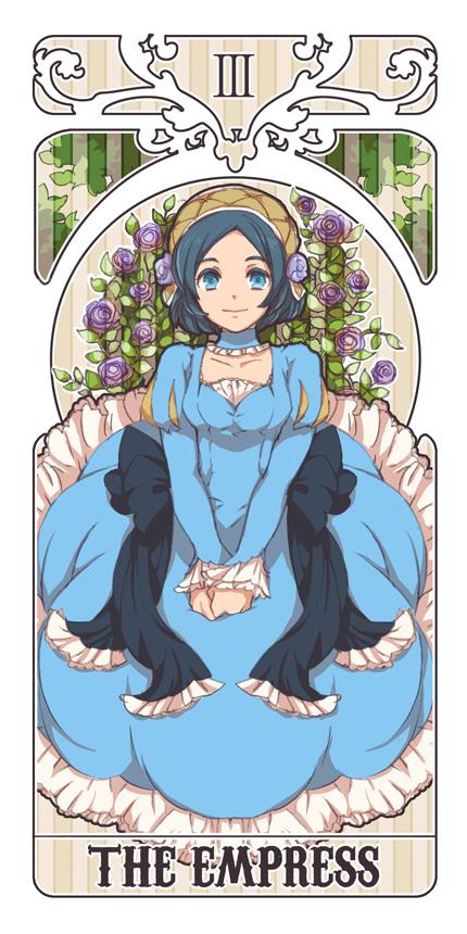 Tags: Anime, Tarot Cards, The Empress, Inazuma Eleven GO, Sorano Aoi, Pixiv Id 198040, Inazuma Eleven Go: Chrono Stone
