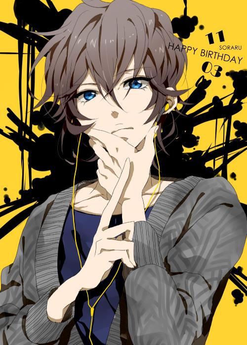 Tags: Anime, Toma-toma-tomato, Soraru, Finger, Nico Nico Singer, Mobile Wallpaper, Pixiv, Fanart