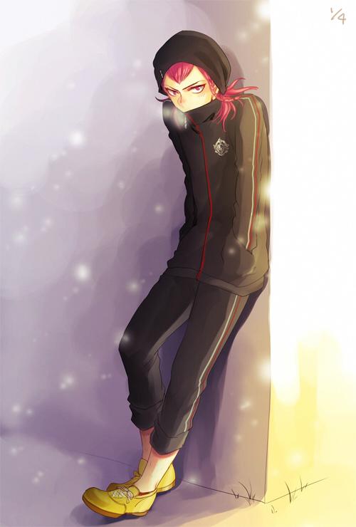 Tags: Anime, Shinri Mitsuba, Super Danganronpa 2, Souda Kazuichi, Mobile Wallpaper, Pixiv, Fanart, Fanart From Pixiv