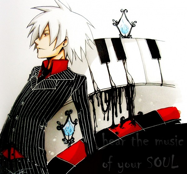 Tags: Anime, SOUL EATER, Soul Eater Evans, Piano, Piano Keys