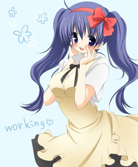 Tags: Anime, Marone, Working!!, Souma Hiroomi