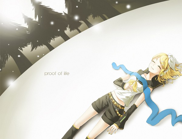 Tags: Anime, Vocaloid, Kagamine Rin, Soundless Voice, Akimiya