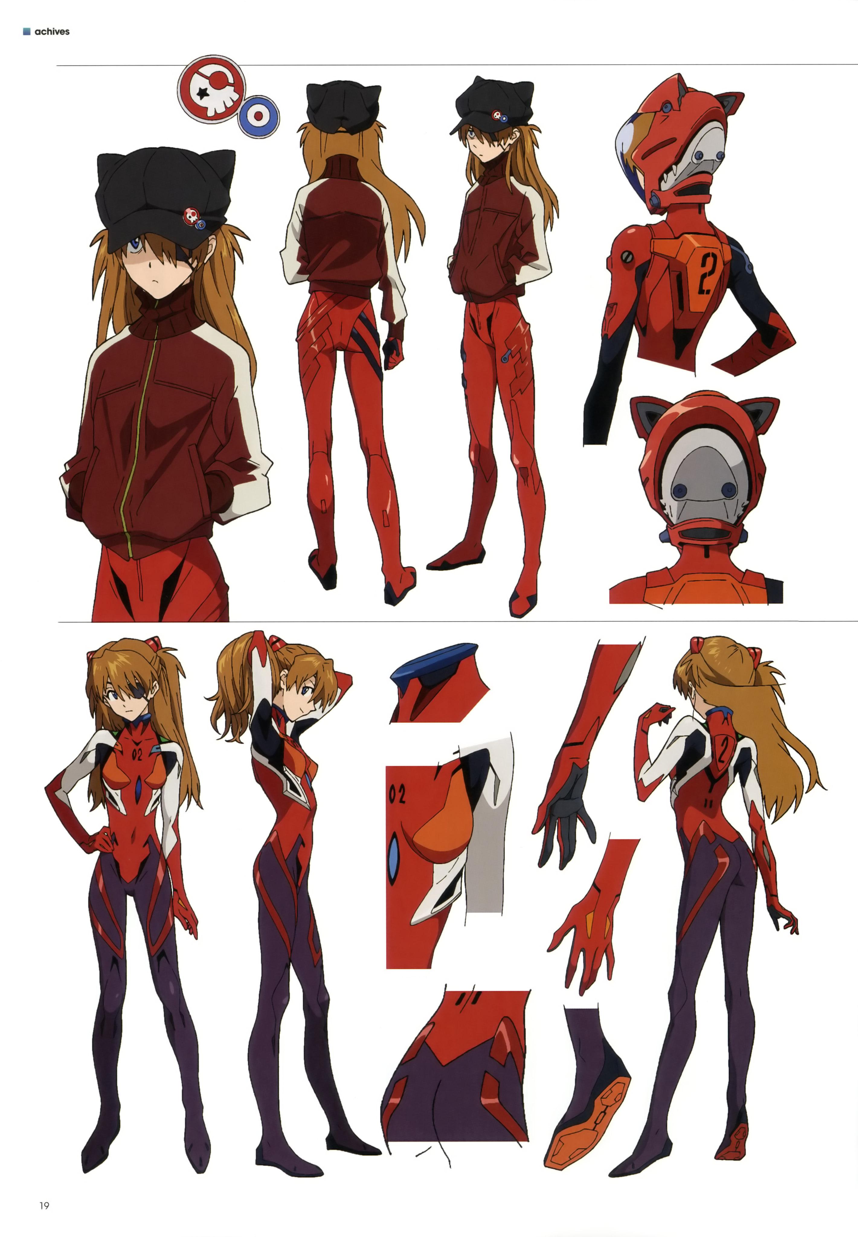 G Anime Character : Souryuu asuka langley soryu neon genesis