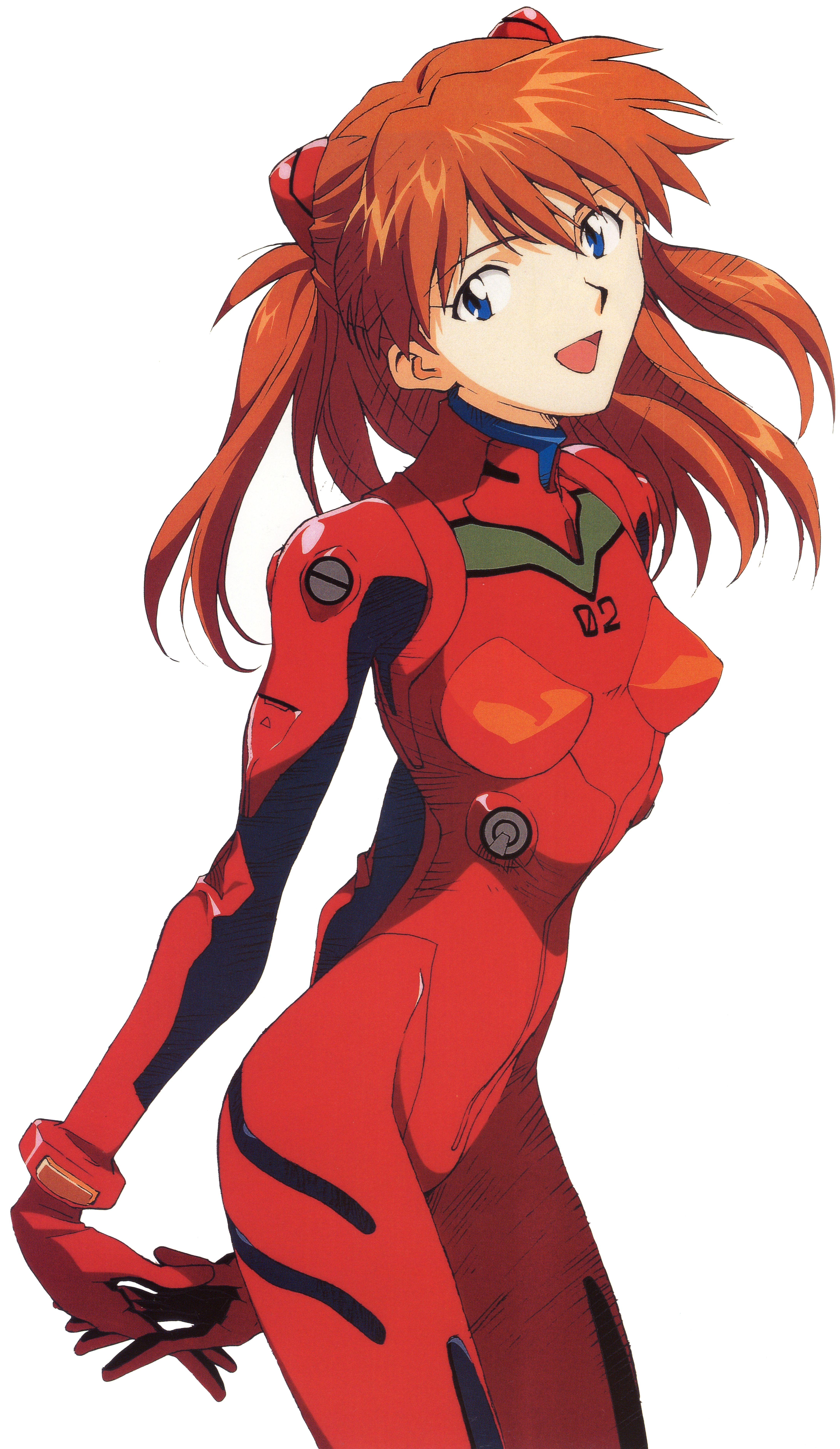 Anime picture neon genesis evangelion gainax soryu asuka langley rioom long hair single