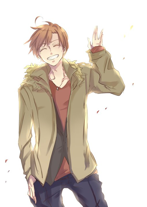 Image result for man waving his hand anime