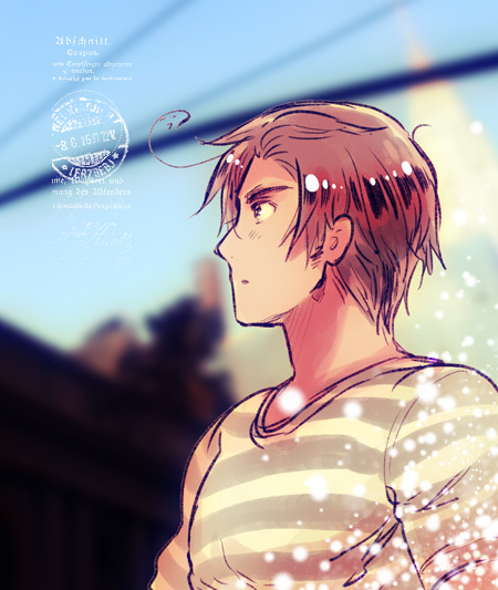 Tags: Anime, Himaruya Hidekaz, Axis Powers: Hetalia, South Korea, Spirit Curl, Official Art, Requested Upload