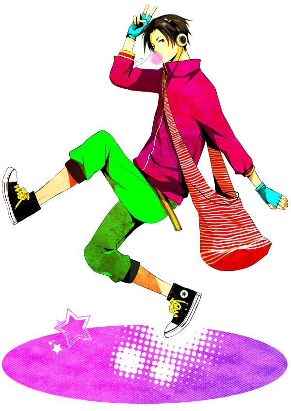 Tags: Anime, Pixiv Id 2349118, Axis Powers: Hetalia, South Korea, Spirit Curl, Converse, Fanart, Mobile Wallpaper, Pixiv