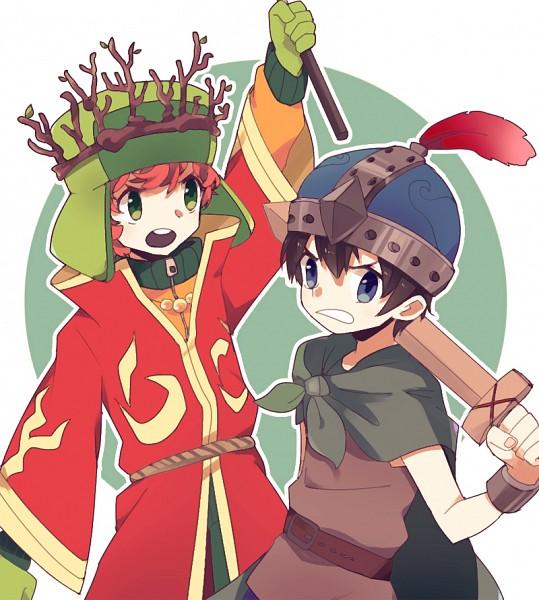 High Jew Elf & Warrior