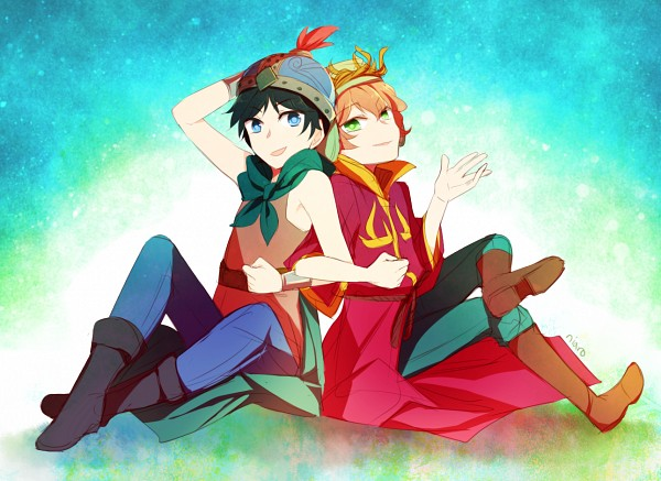 Elf King and Sir Stan