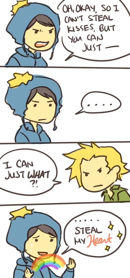 Tags: Anime, South Park, Craig Tucker, Tweek Tweak, Artist Request, Comic, Creek (South Park)