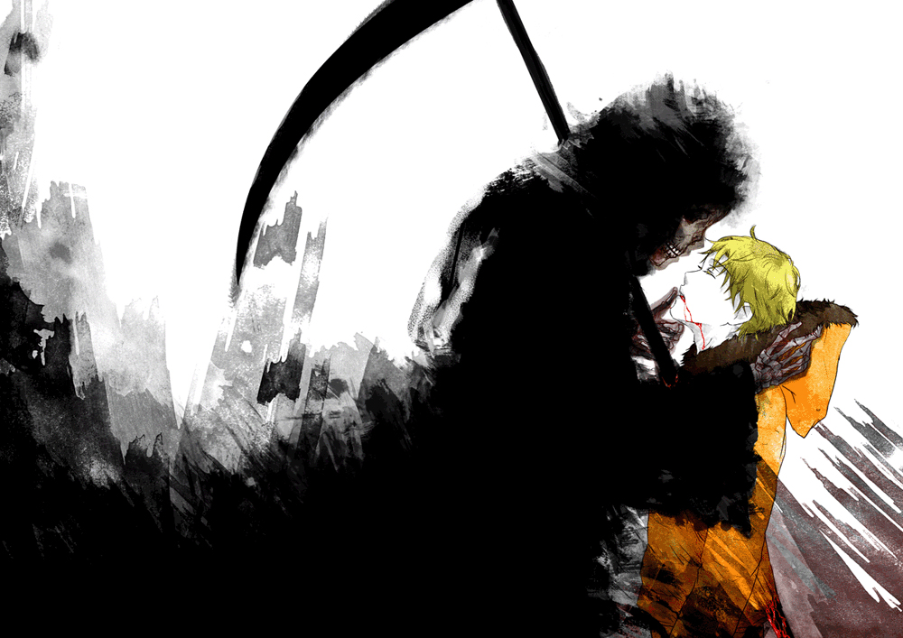 Grim Reaper Scythe Zerochan Anime Image Board