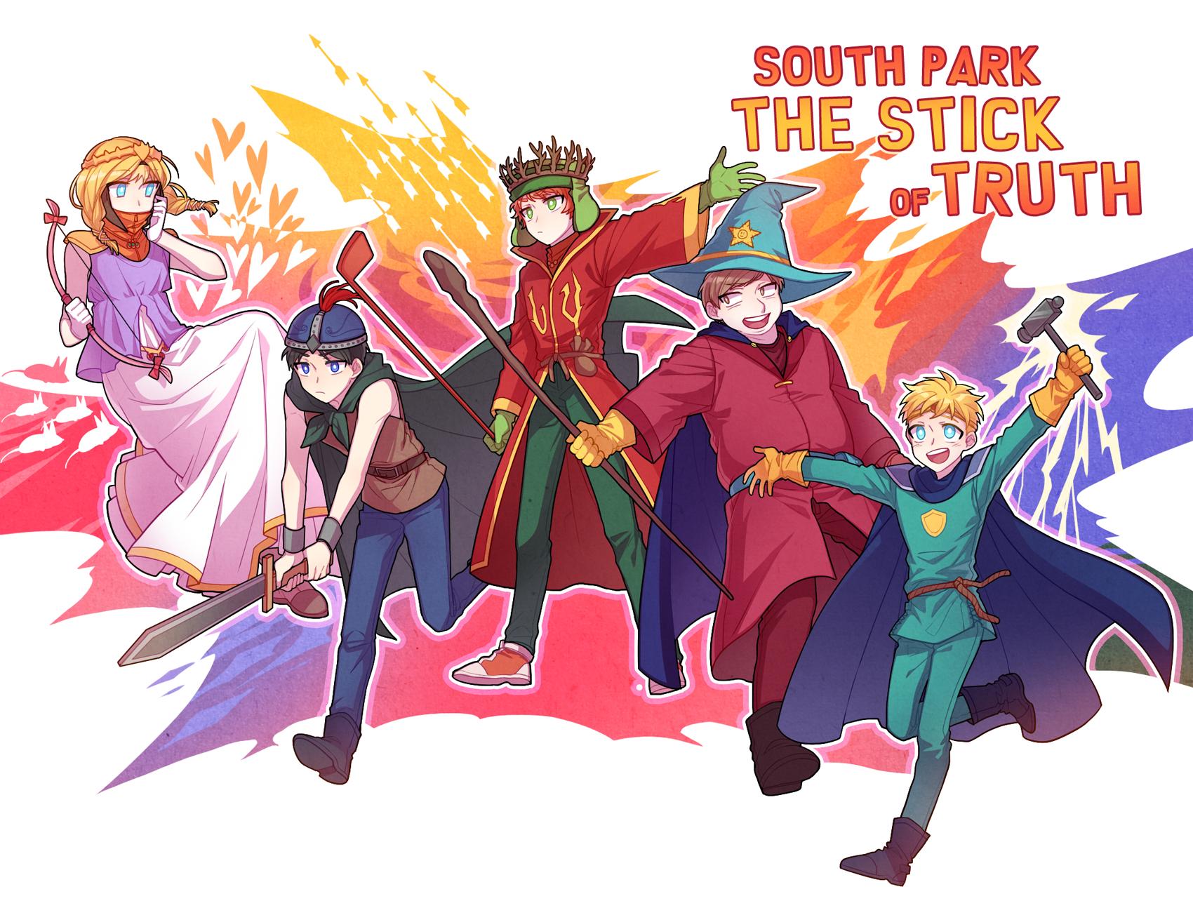 South Park: The Stick Of Truth - Zerochan Anime Image Board   1700 x 1294 jpeg 1847kB