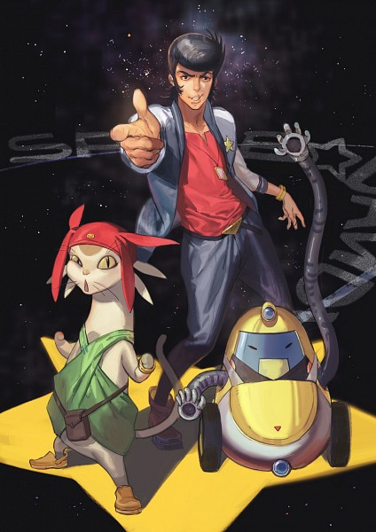 Space dandy, Character design, Tv animation
