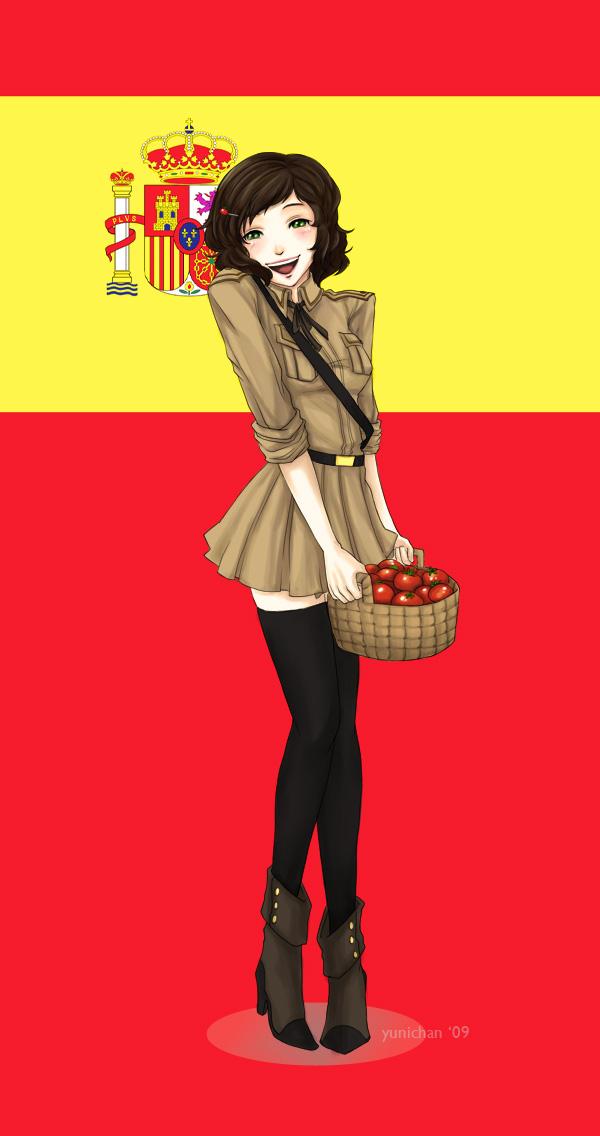 Tags: Anime, Axis Powers: Hetalia, Spain (Female), Nyotalia