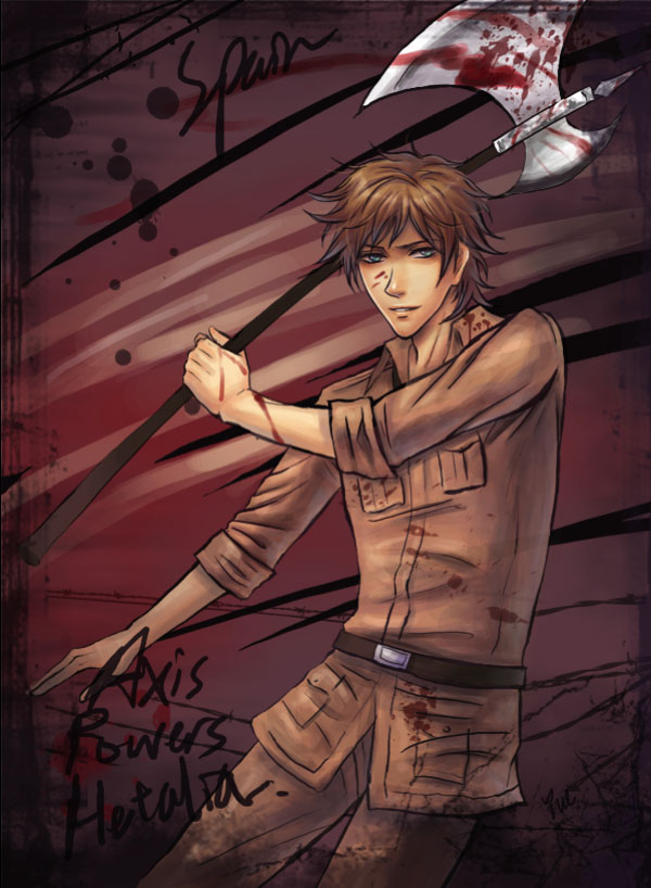 Tags: Anime, Axis Powers: Hetalia, Spain, deviantART, Artist Request