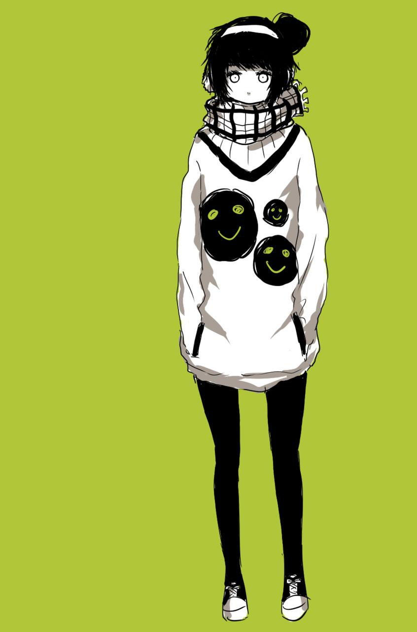 Девушка с пистолетом аниме арт