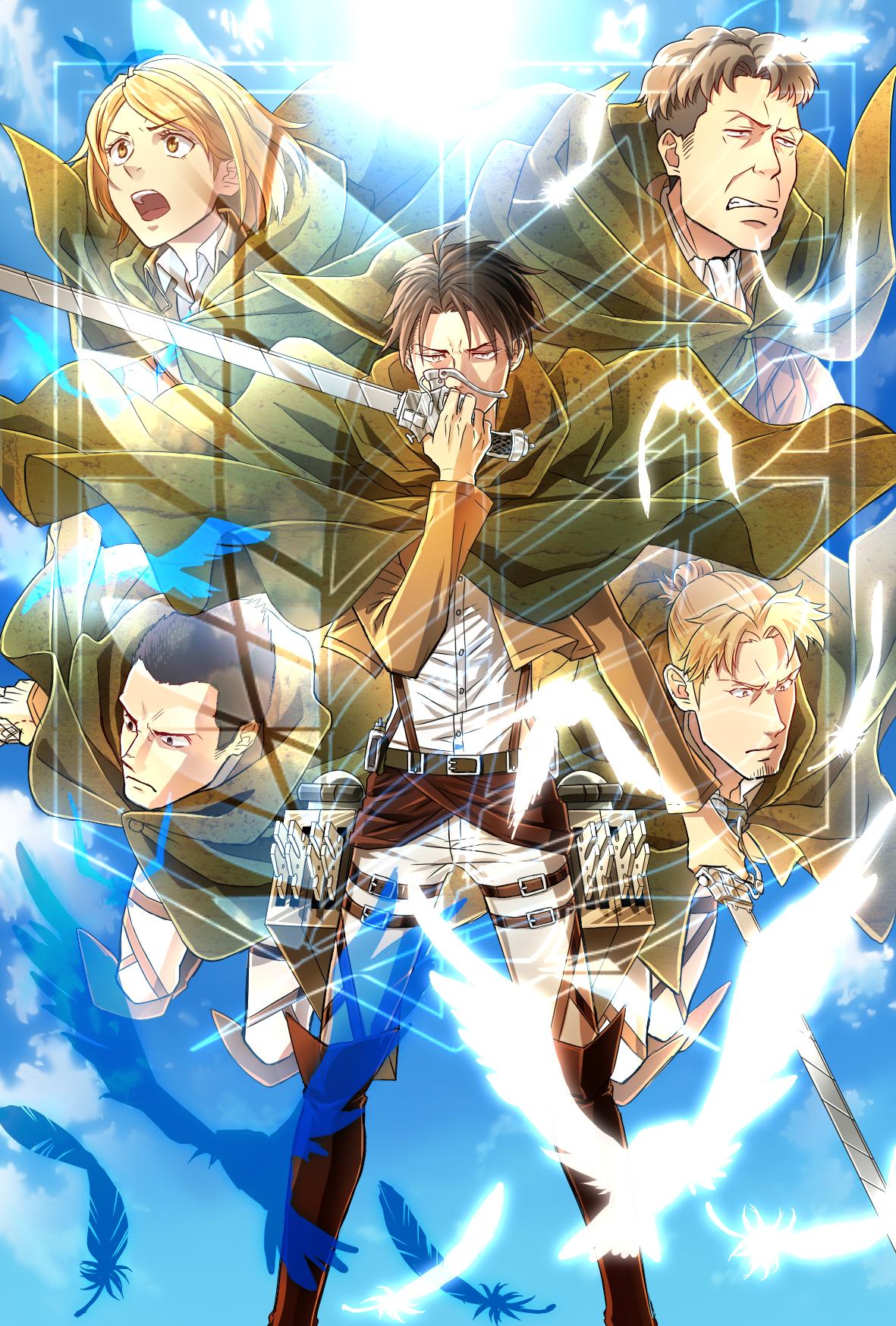 Special Operations Squad Attack On Titan Mobile Wallpaper 1573057 Zerochan Anime Image Board