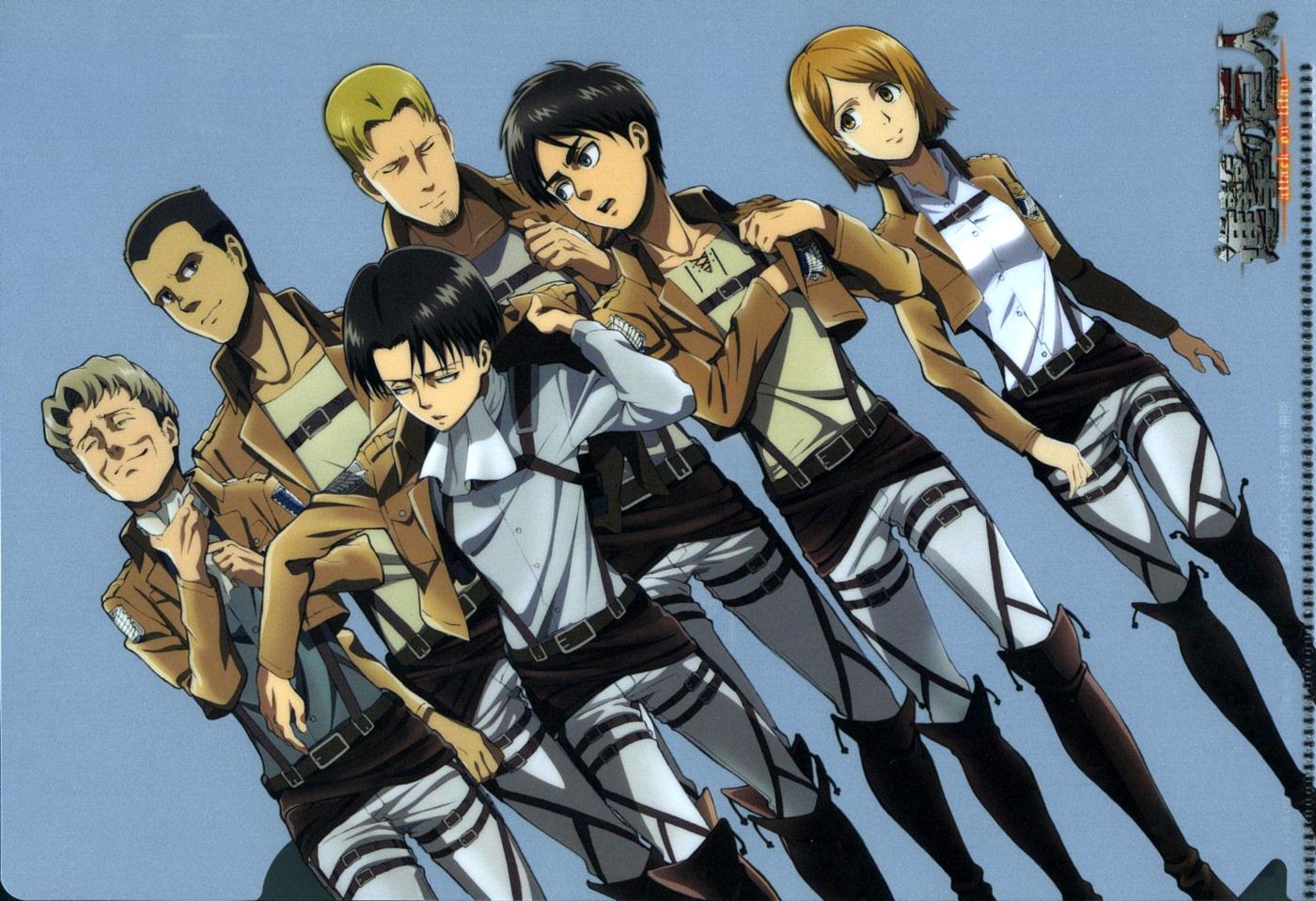 Attack On Titan Official Art Zerochan Anime Image Board