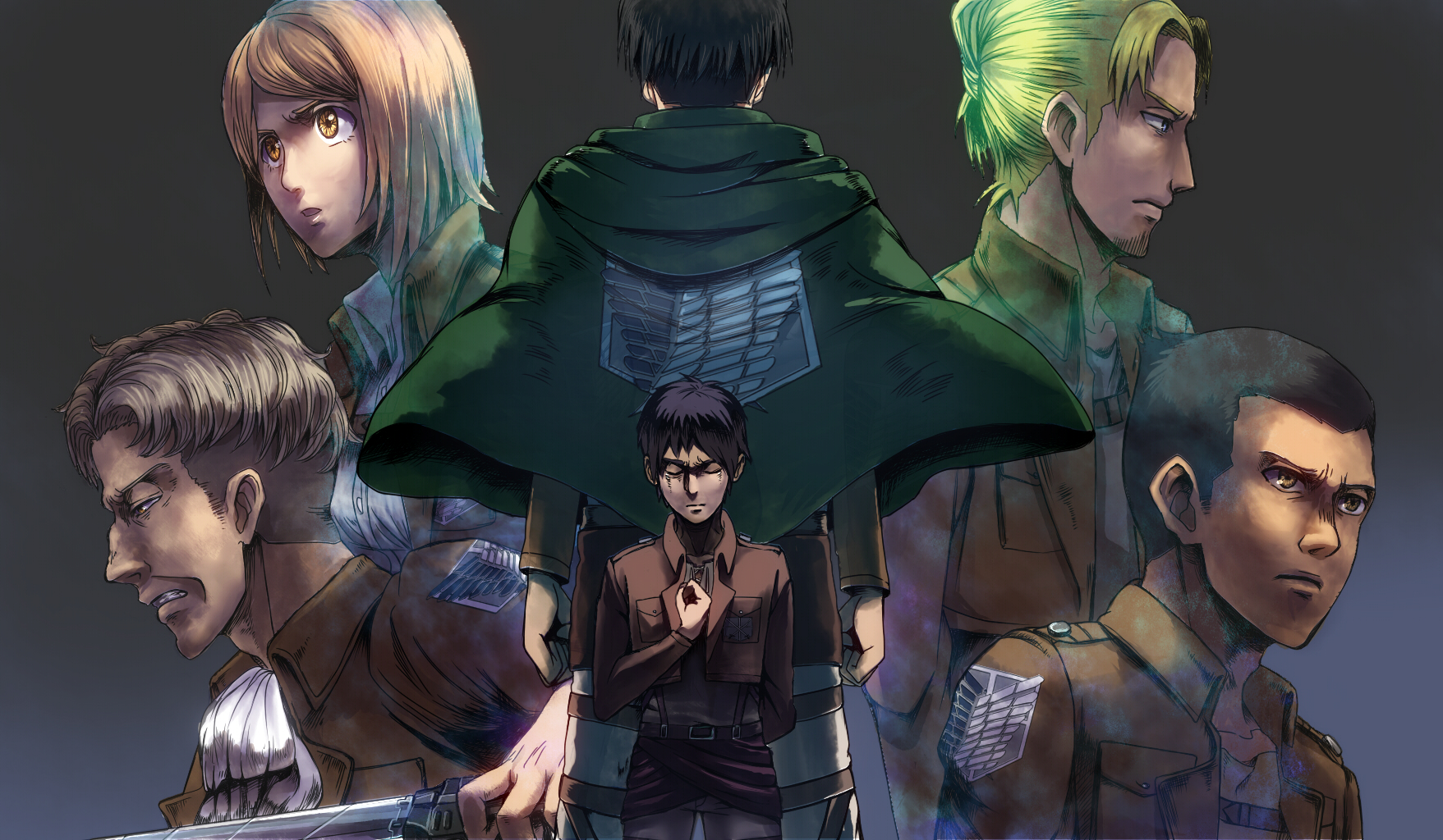Special Operations Squad Attack On Titan Page 5 Of 6 Zerochan Anime Image Board