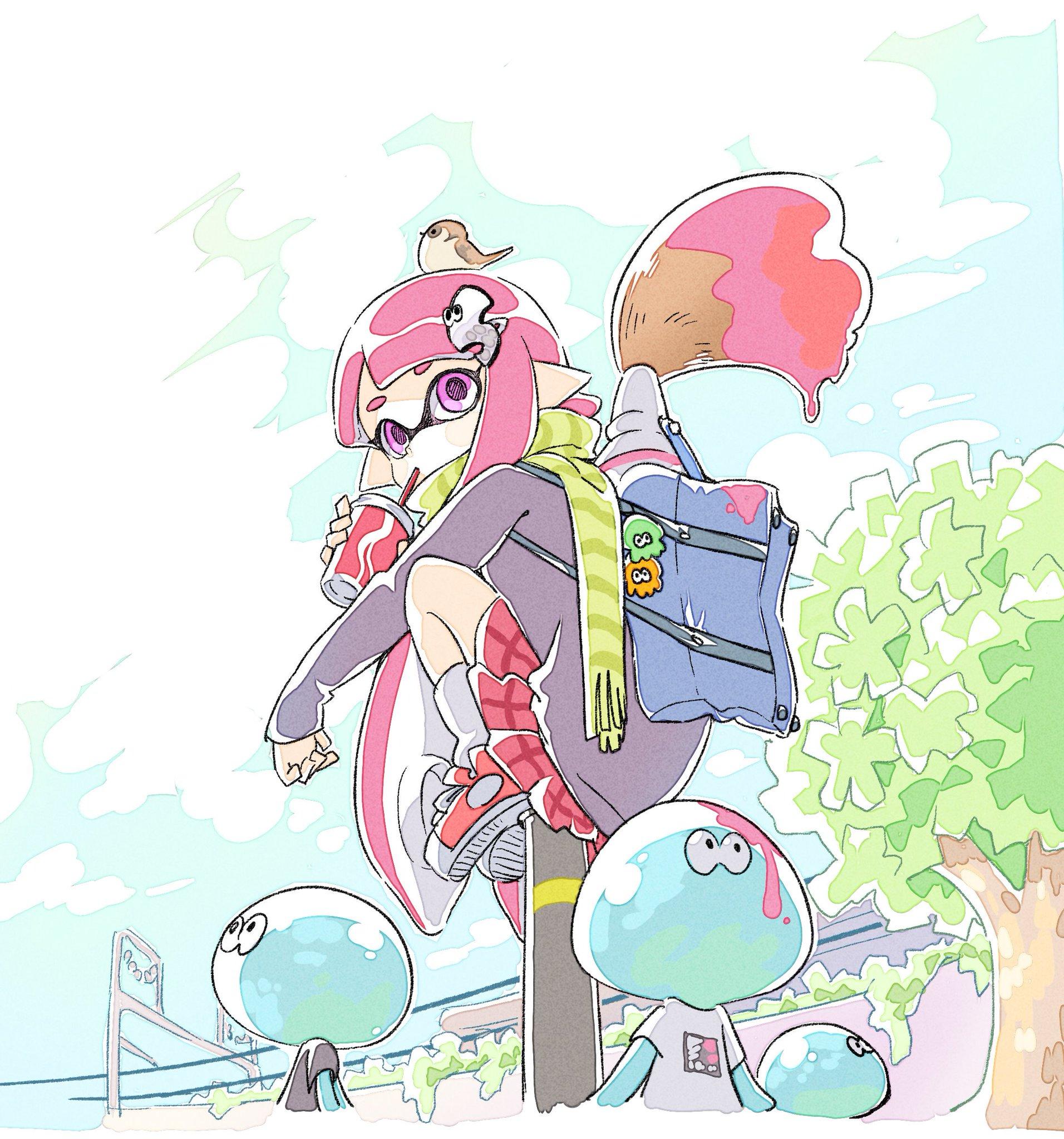 Splatoon Image 2111179 Zerochan Anime Image Board