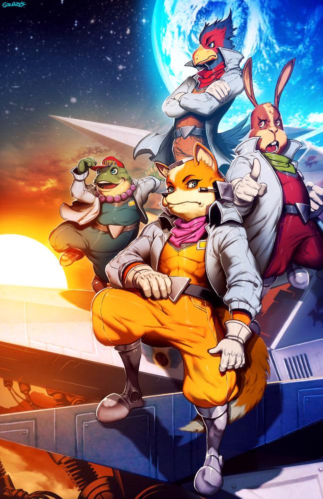 star fox zerochan anime image board