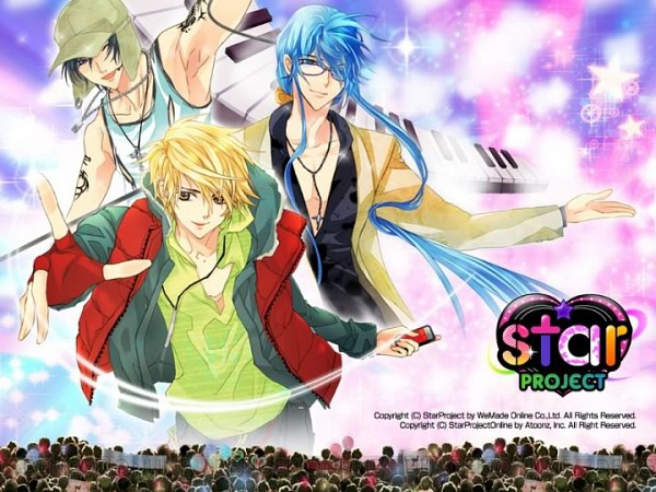 Tags: Anime, Ren, Touya (Star Project), Star Project