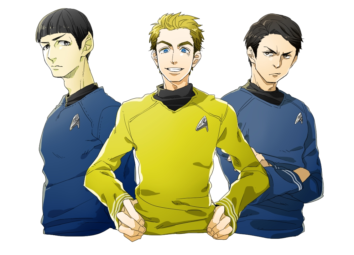 Star Trek : Tracking the Star by MugenMusouka on DeviantArt |Drawing Cute Cartoon Star Trek Kirk