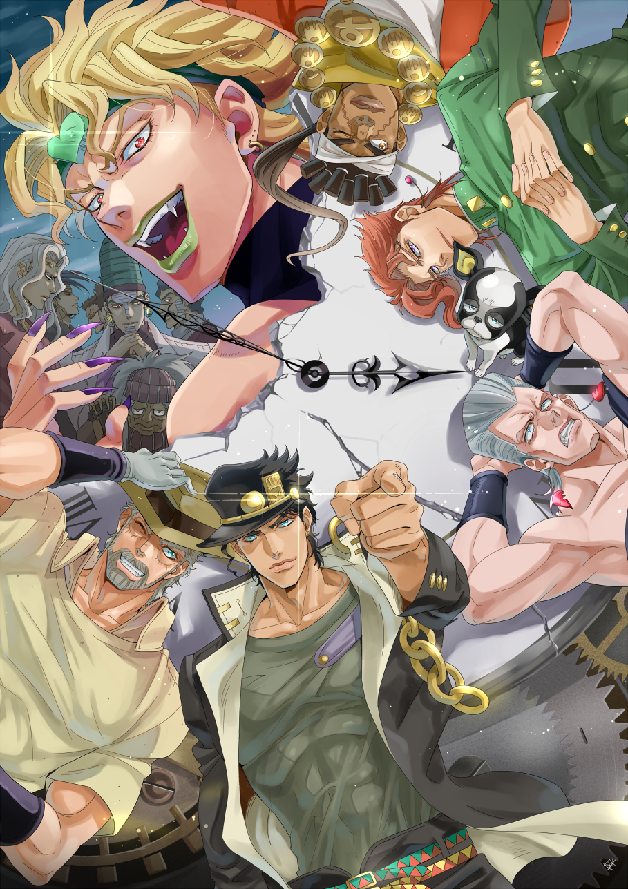 stardust crusaders jojo no kimyou na bouken mobile wallpaper