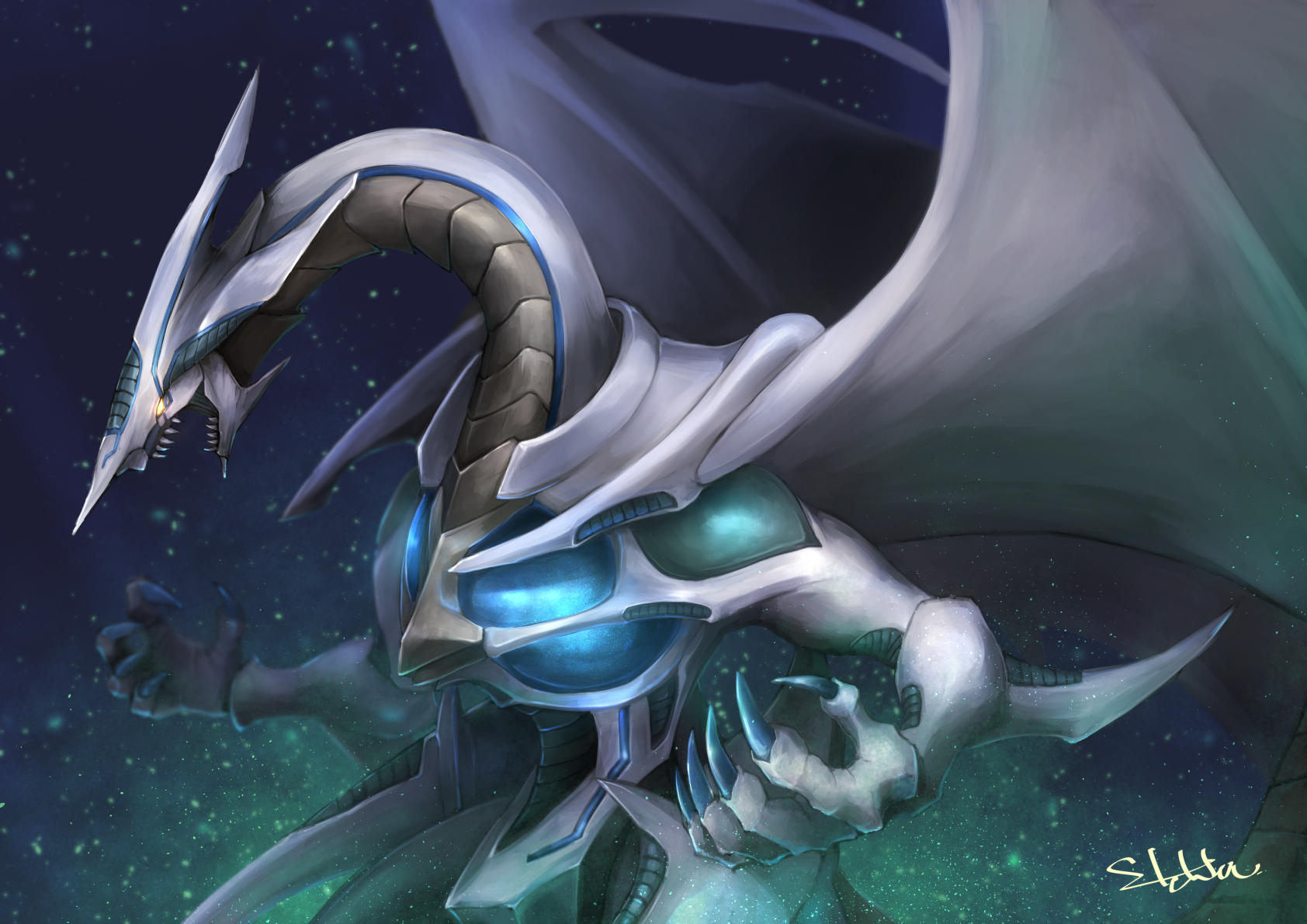Yugioh 5ds Stardust Dragon Stardust Dragon/#20731...