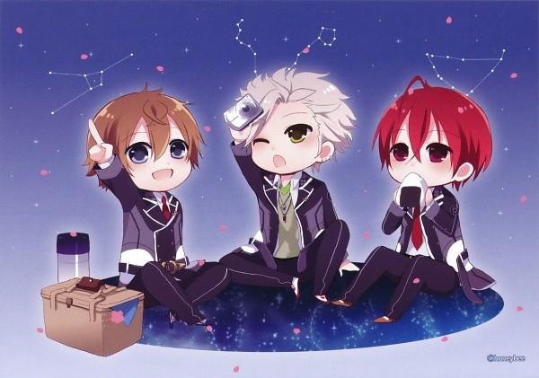 Tags: Anime, Starry☆Sky~, Nanami Kanata (Starry☆Sky), Tohzuki Suzuya, Tomoe Yoh, Starry☆Sky ~in Spring~