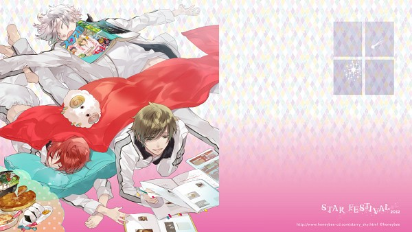 Tags: Anime, Wallpaper, Nanami Kanata, Starry☆sky~, Tomoe Yoh