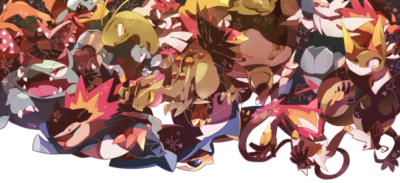 Starter pok mon 1371821 zerochan - Louka pokemon ...