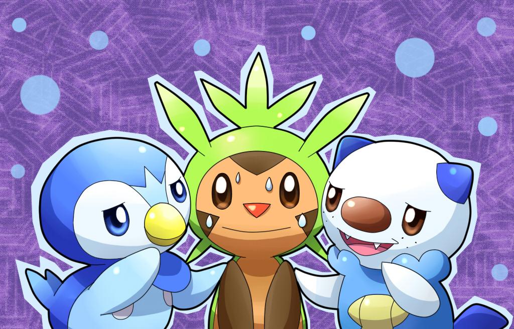 Piplup Manaphy and Oshawott! by ryanthescooterguy on ... |Pokemon Piplup And Oshawott