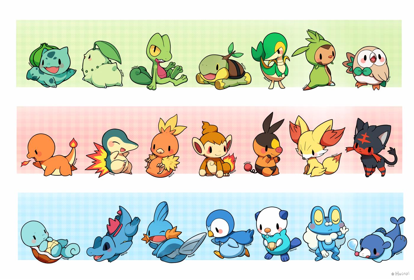 starter pokemon