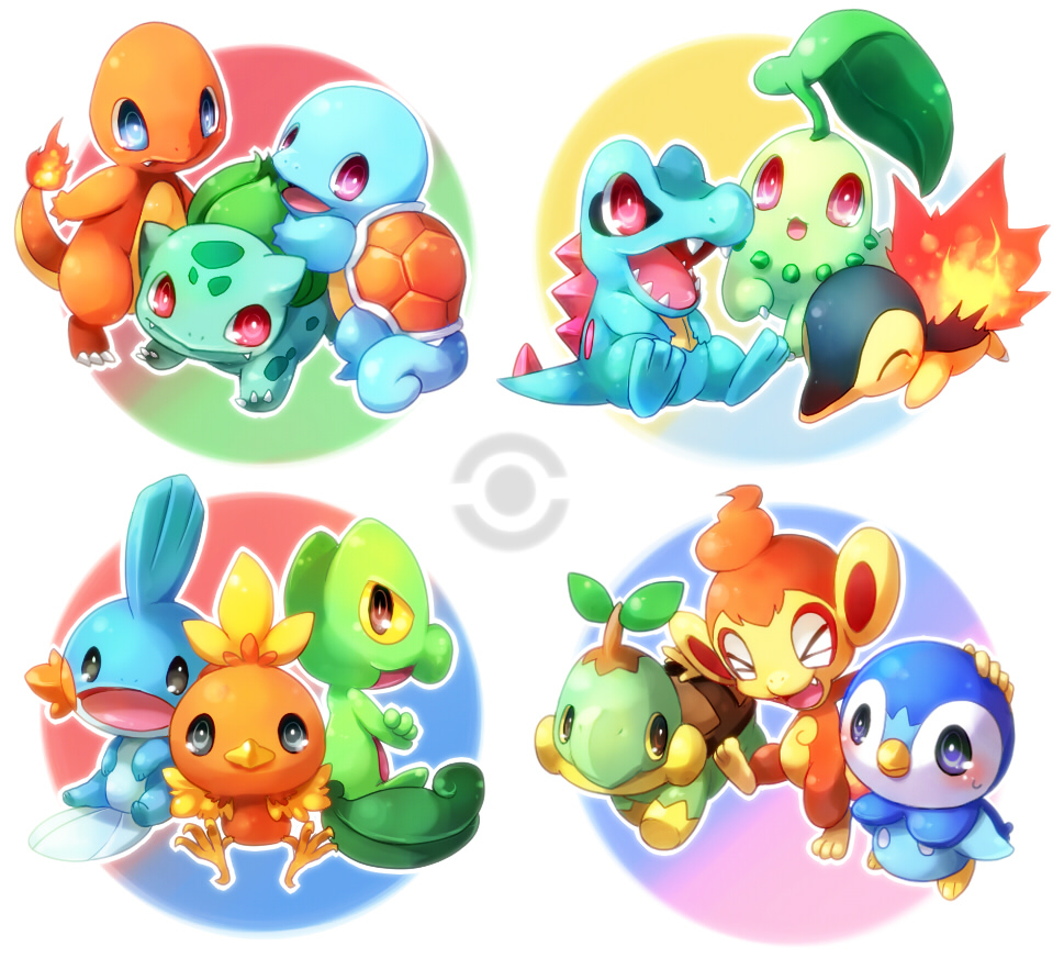 Spoiler Pokemon Starters