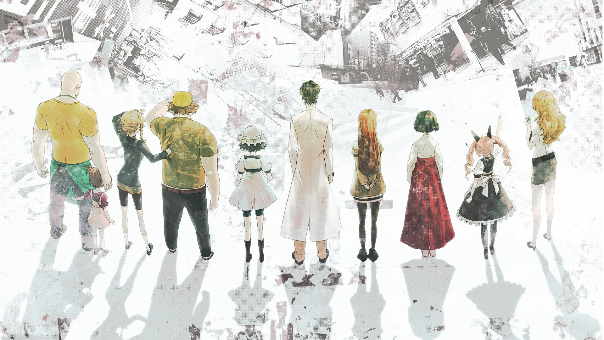 Steins Gate Hd Wallpaper Zerochan Anime Image Board
