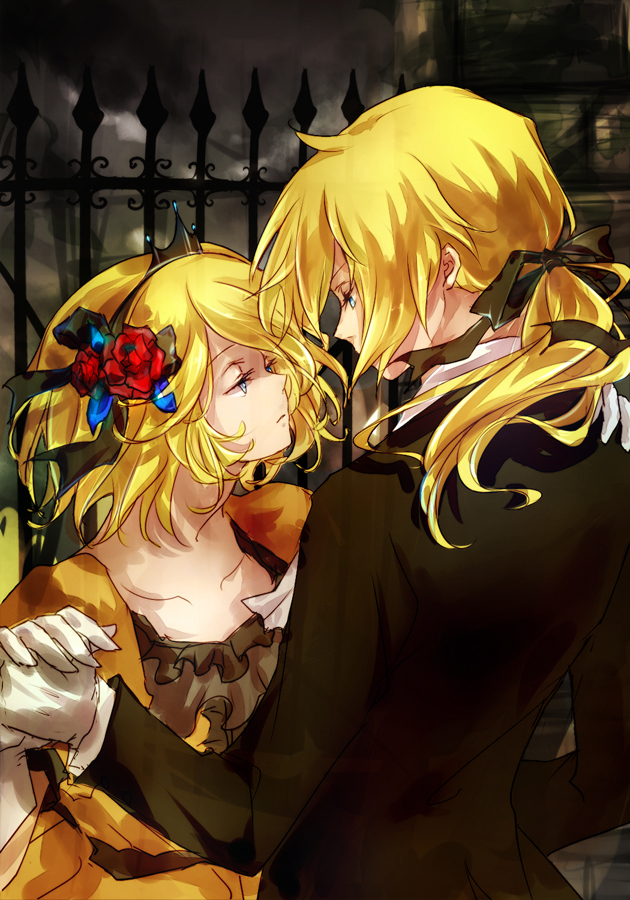 Tags: Anime, FLAFLY, VOCALOID, Kagamine Len, Kagamine Rin, Gate, Fanart, Story of Evil, Mobile Wallpaper, Fanart From DeviantART, Evillious Chronicles, Revision, deviantART