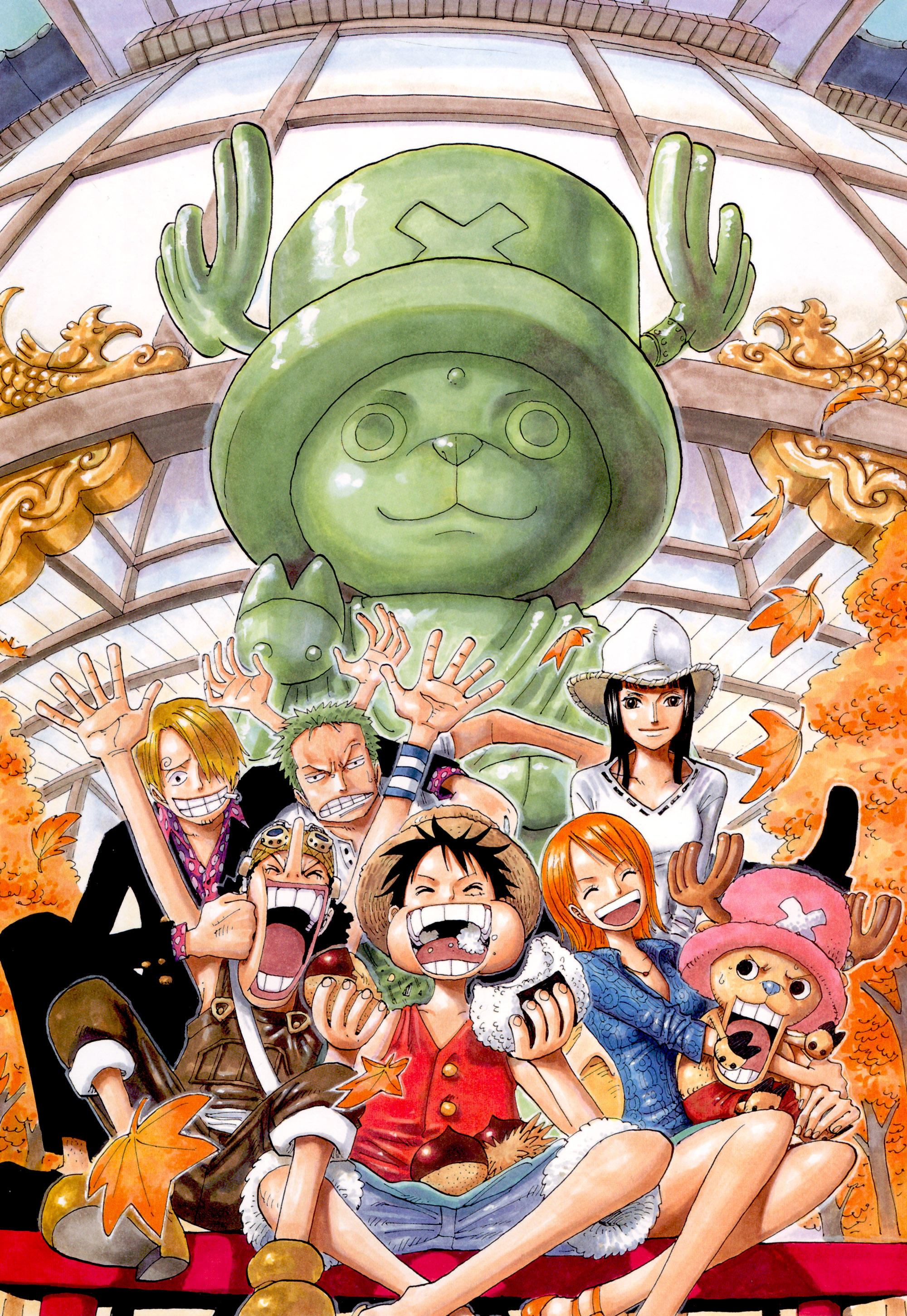Straw Hat Pirates One Piece Mobile Wallpaper 1036146