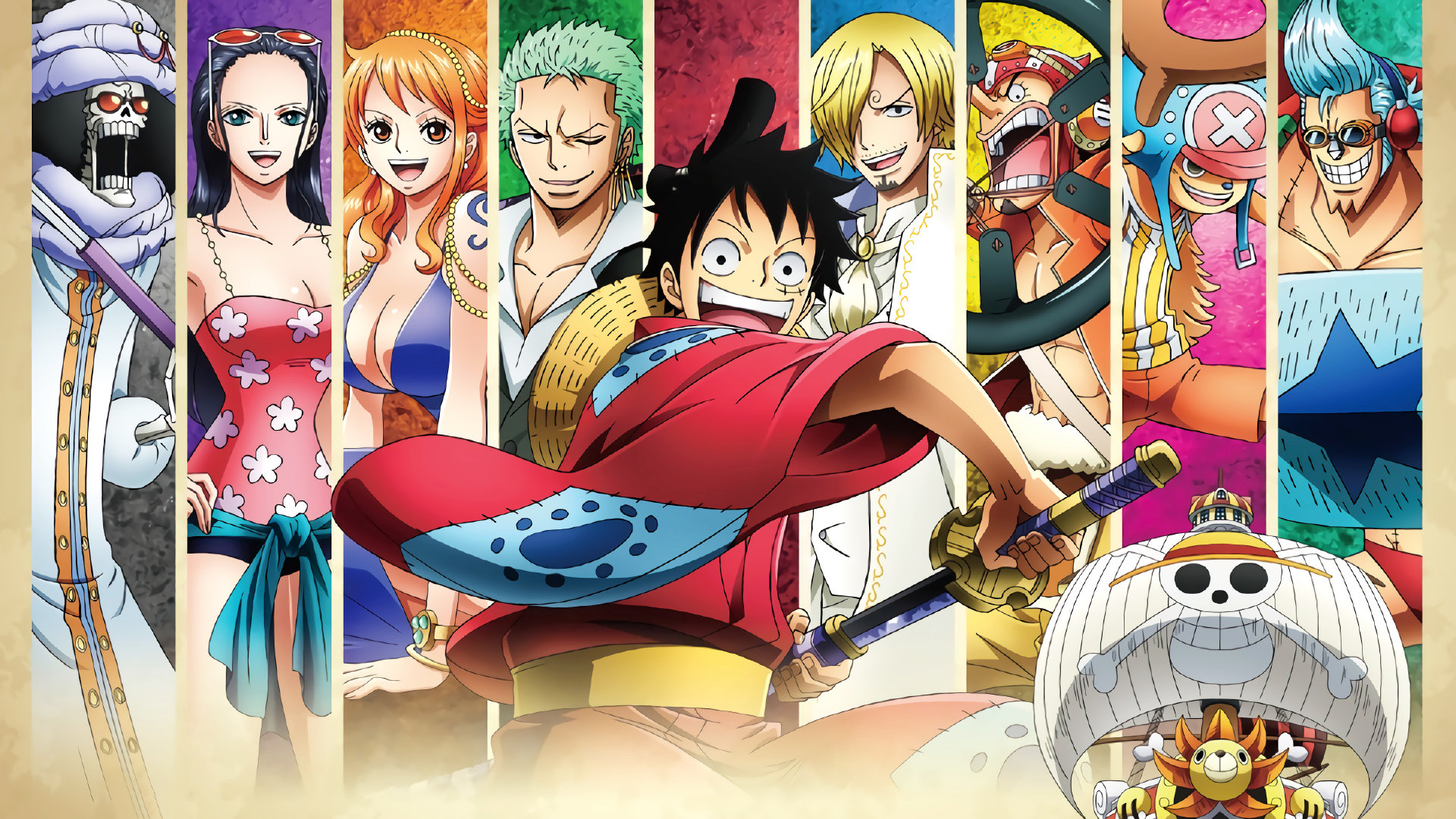 Straw Hat Pirates One Piece Wallpaper 2992935 Zerochan Anime Image Board