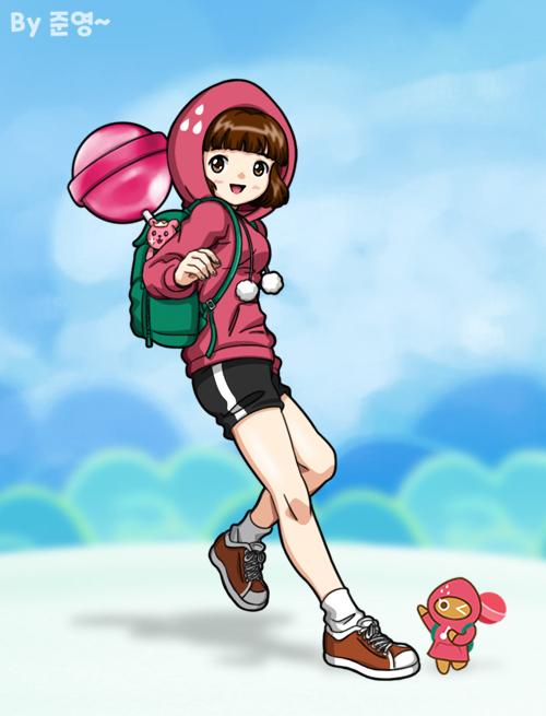 Tags: Anime, Jo (Zksqkfk2005), Cookie Run, Strawberry Cookie, Fanart
