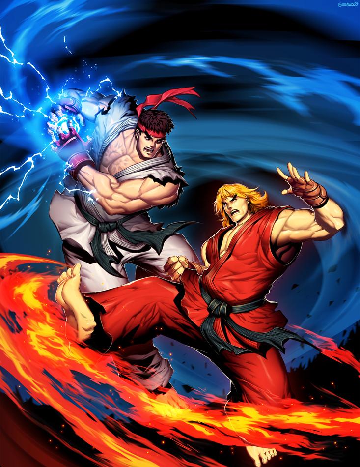 Ken Masters Street Fighter Zerochan Anime Image Board