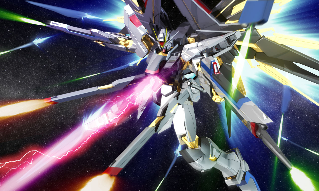 Strike Freedom Gundam - Mobile Suit Gundam SEED Destiny ...