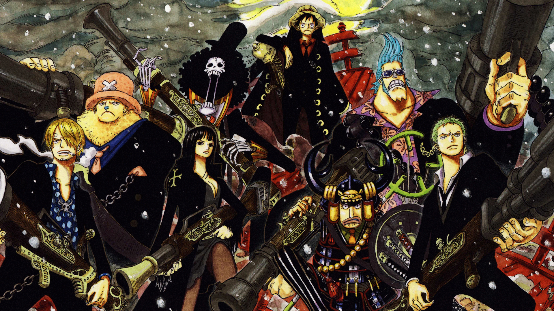 Hd wallpaper one piece zoro - Strong World Download Strong World Image 91 Fav One Piece