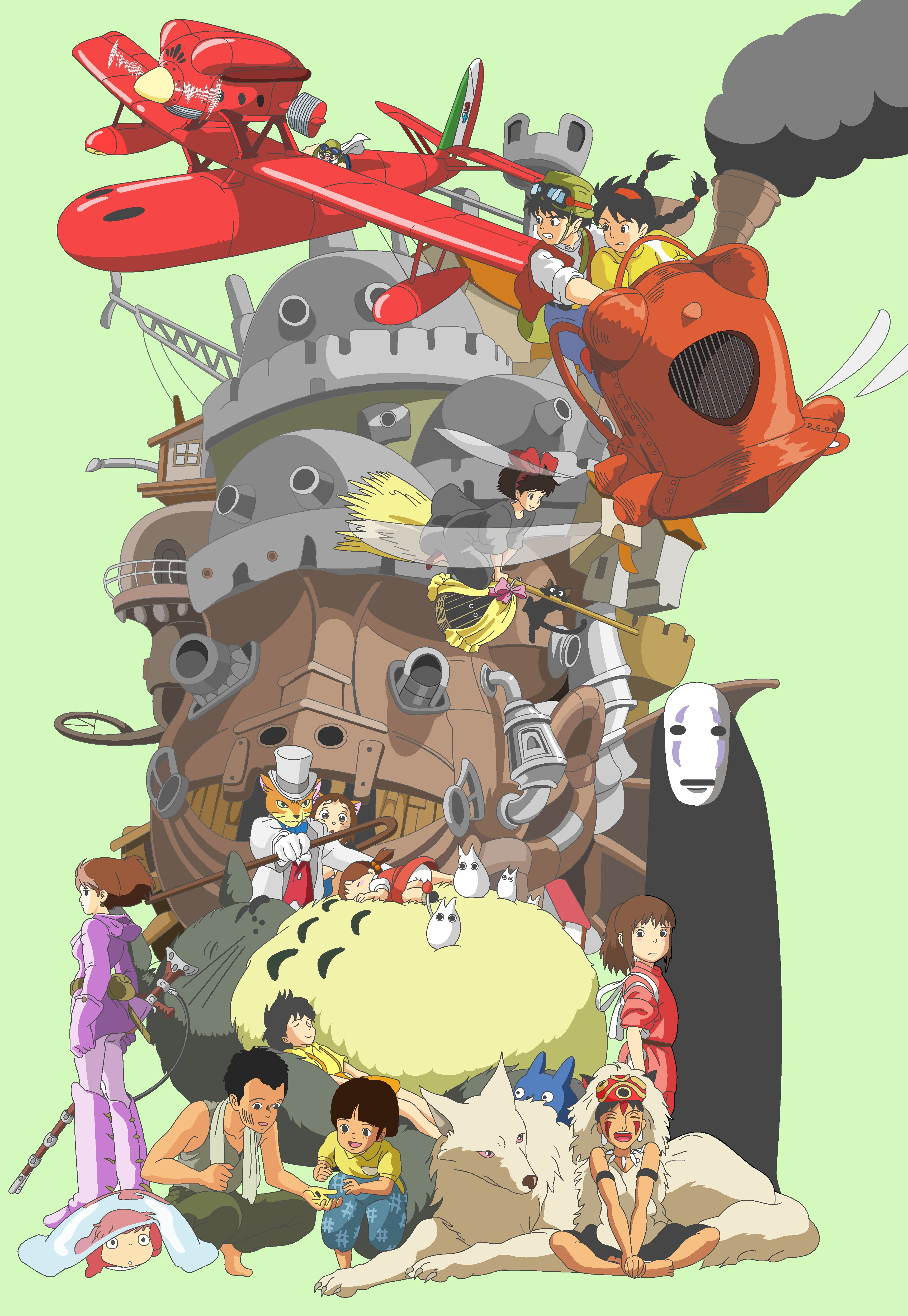 View Fullsize Studio Ghibli Image