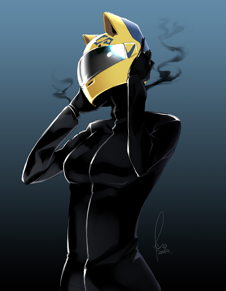durarara celty iphone