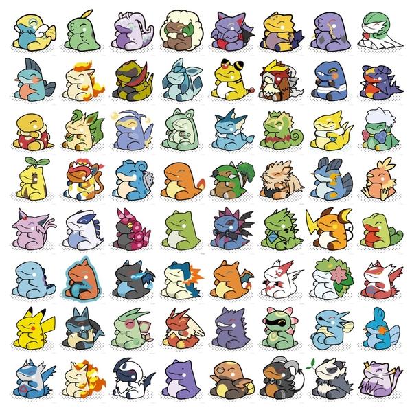 Tags: Anime, Pokémon, Blaziken, Shuckle, Sunkern, Goodra, Glaceon, Entei, Torterra, Lanturn, Scolipede, Treecko, Horsea