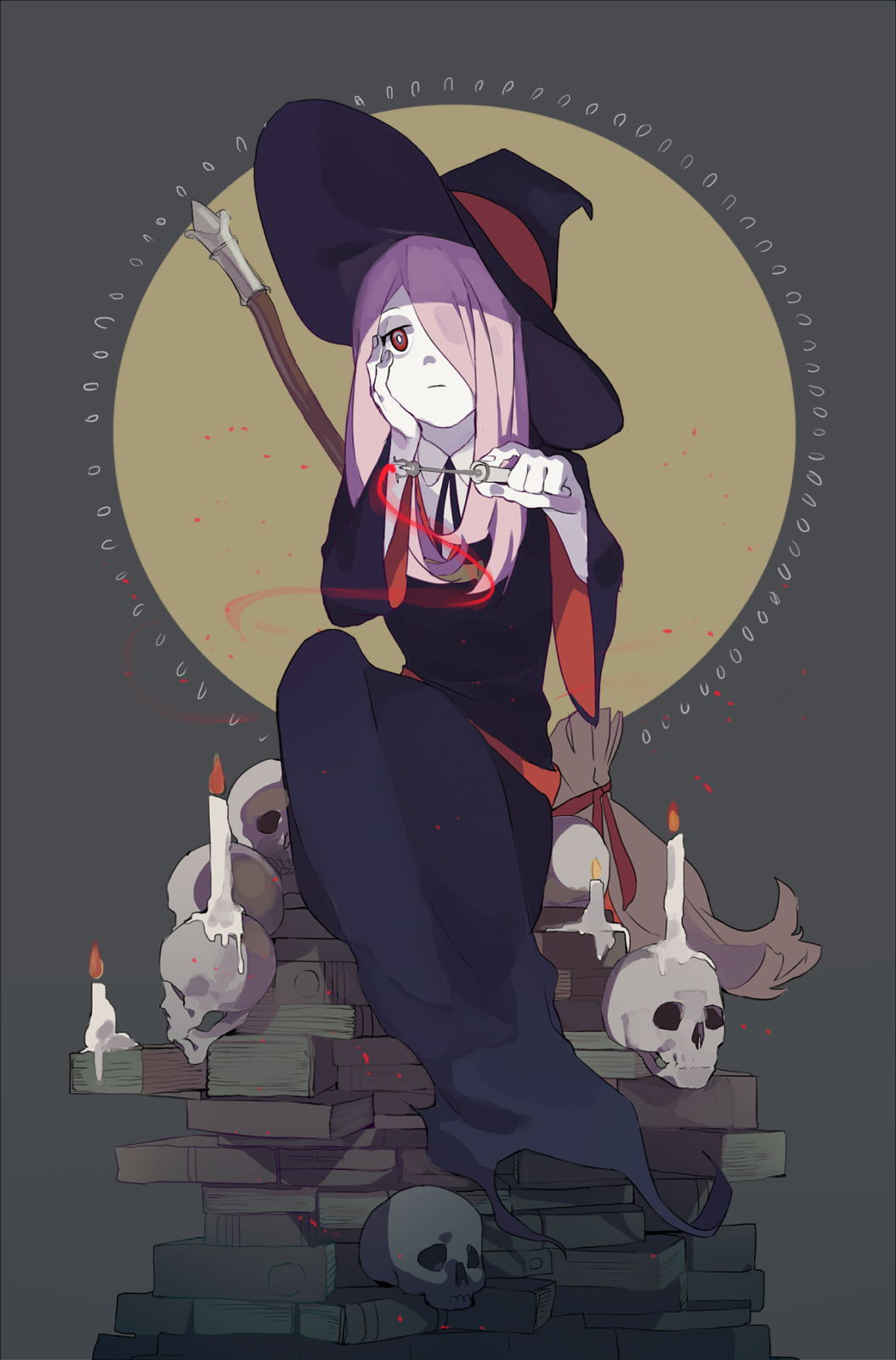 Sucy Manbavaran Little Witch Academia Mobile Wallpaper